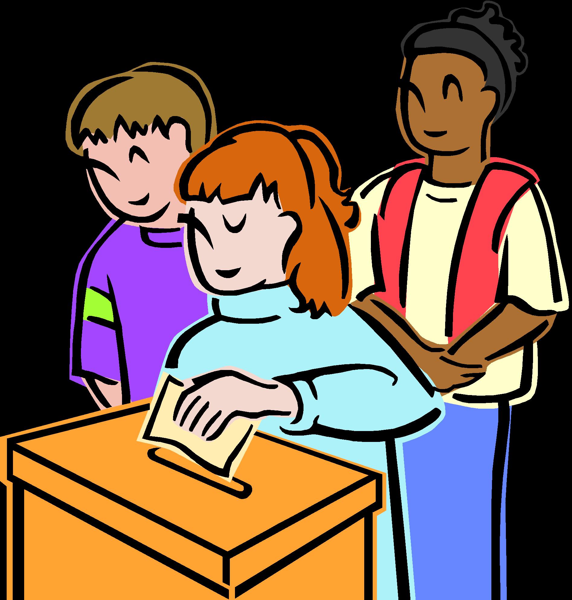 Voting clipart student. Elem educ