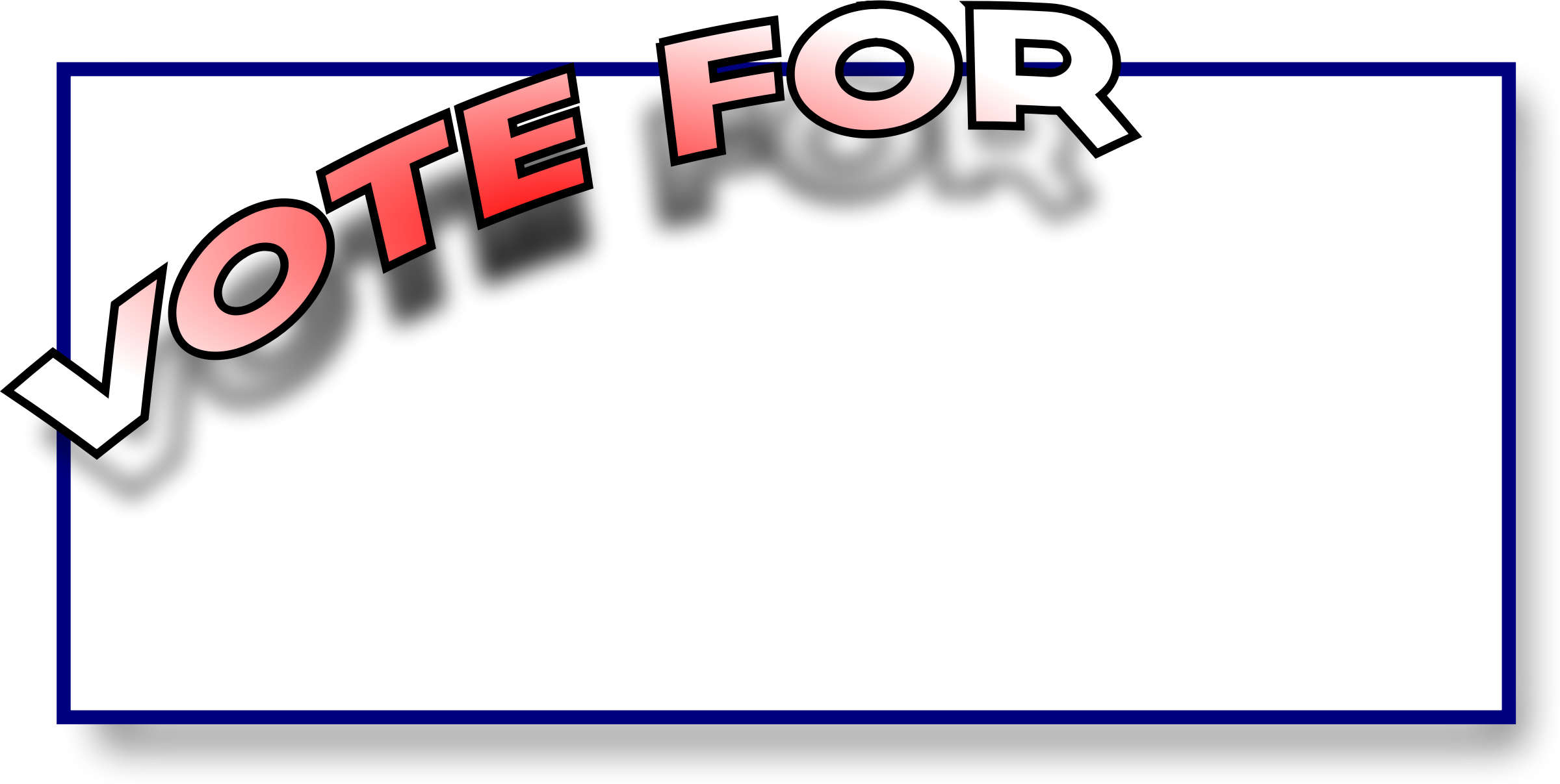 Vote for big image. Voting clipart today