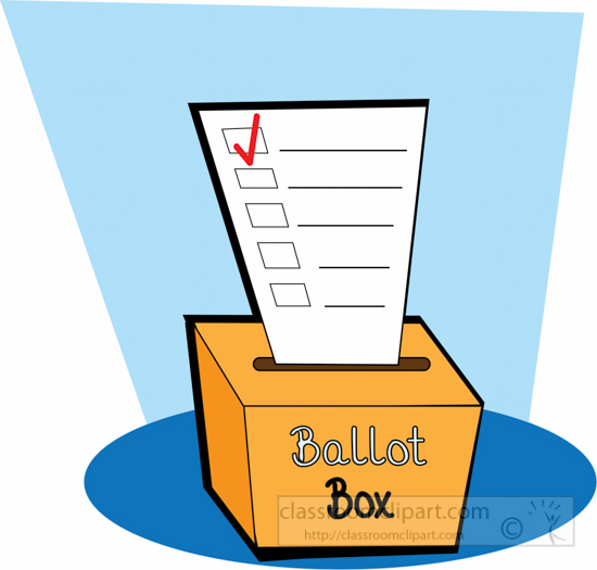 Episode presidential election process. Voting clipart elector