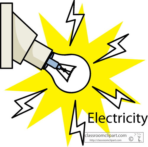 Electrical energy . Electric clipart