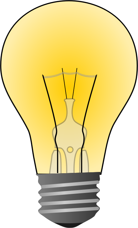 collection of electric. Lamp clipart bilb