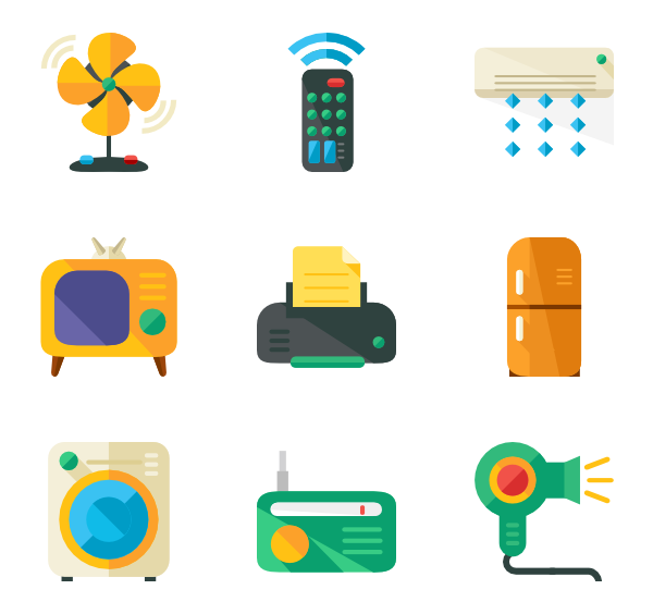 Electronics clipart electrical equipment.  collection of appliances