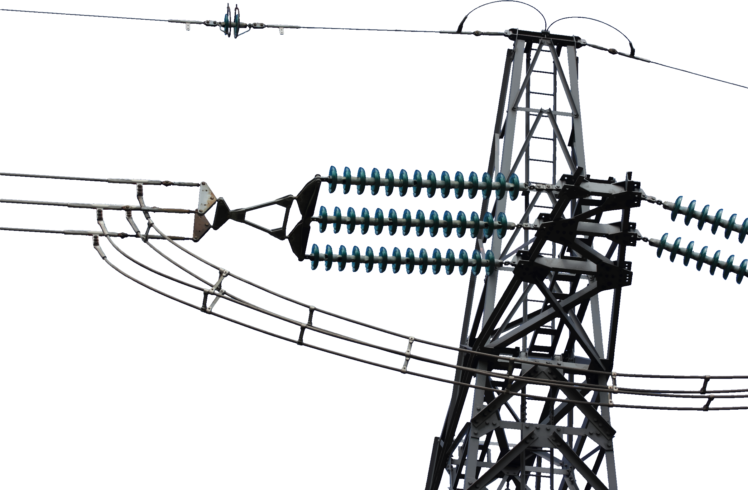 Tower clipart transmission line tower. Powerlines big image png