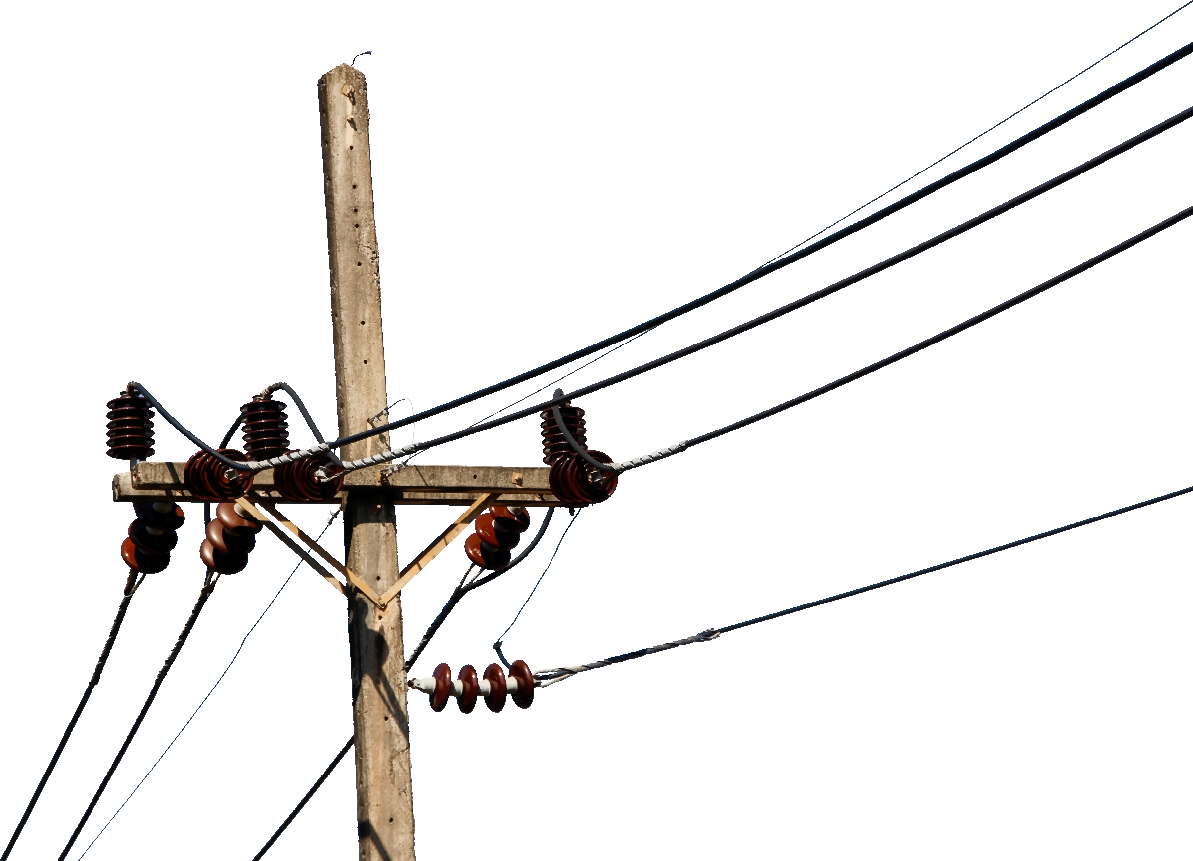 Electric clipart electric conductor. Powerlines big image png