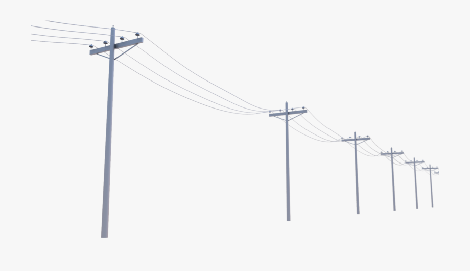Electricity clipart electric pole. Clip black and white