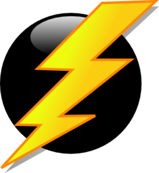 Lightning bolt free images. Electric clipart electric spark