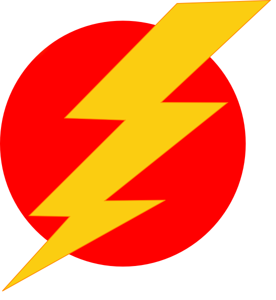 Electric clipart electric spark. Lightning icon clip art
