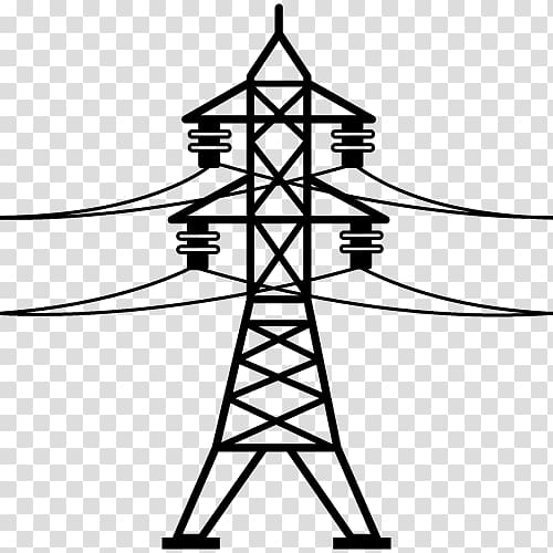 Tower clipart power tower. Electric transmission electrical grid