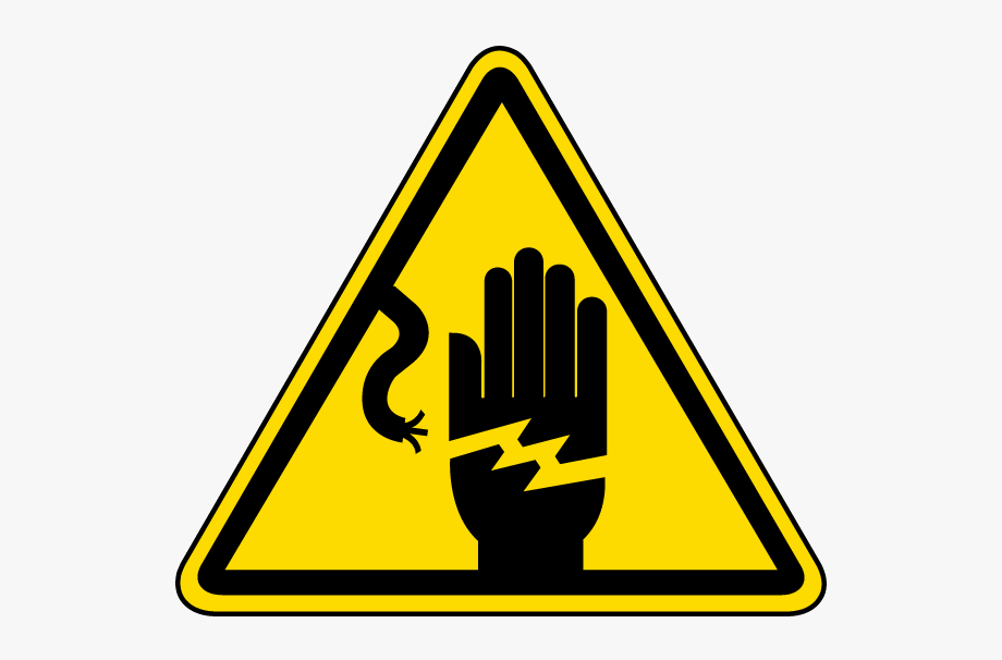 Electrician electrical shock . Electricity clipart electricity danger