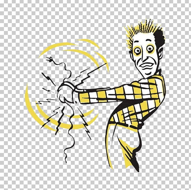 Electricity electrocution shock . Electric clipart electrical injury