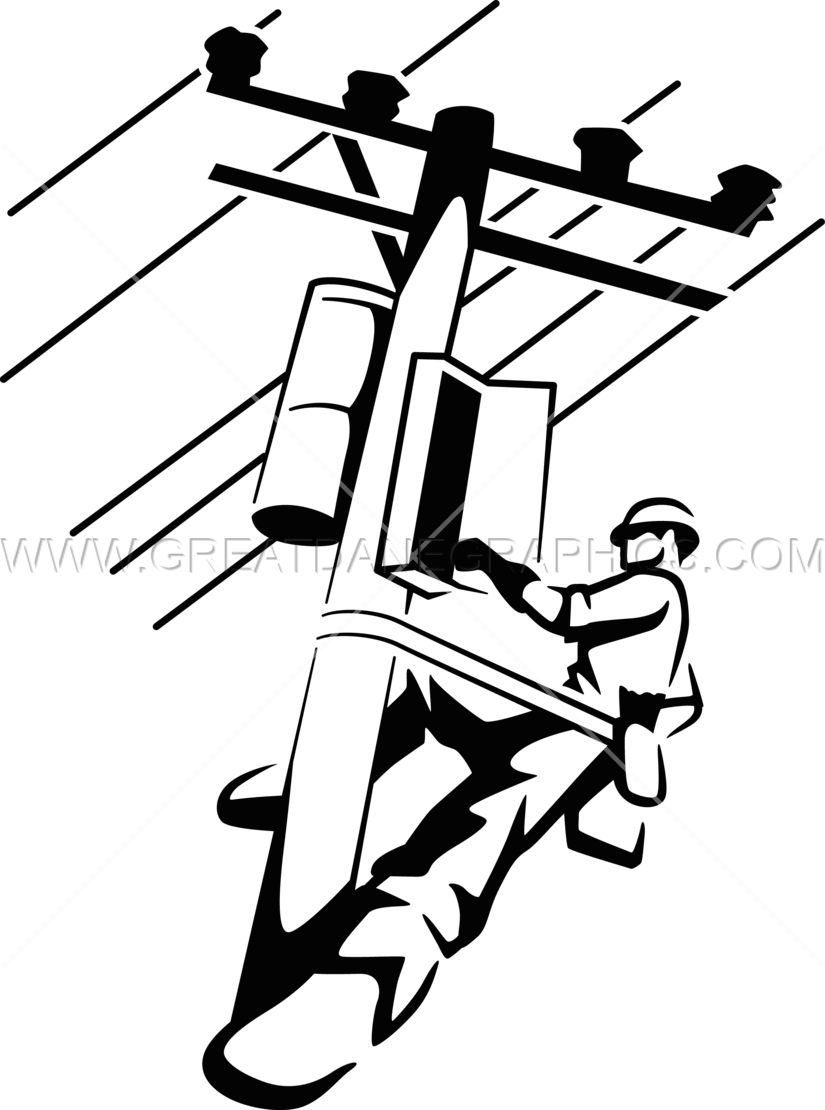 electrical clipart lineman