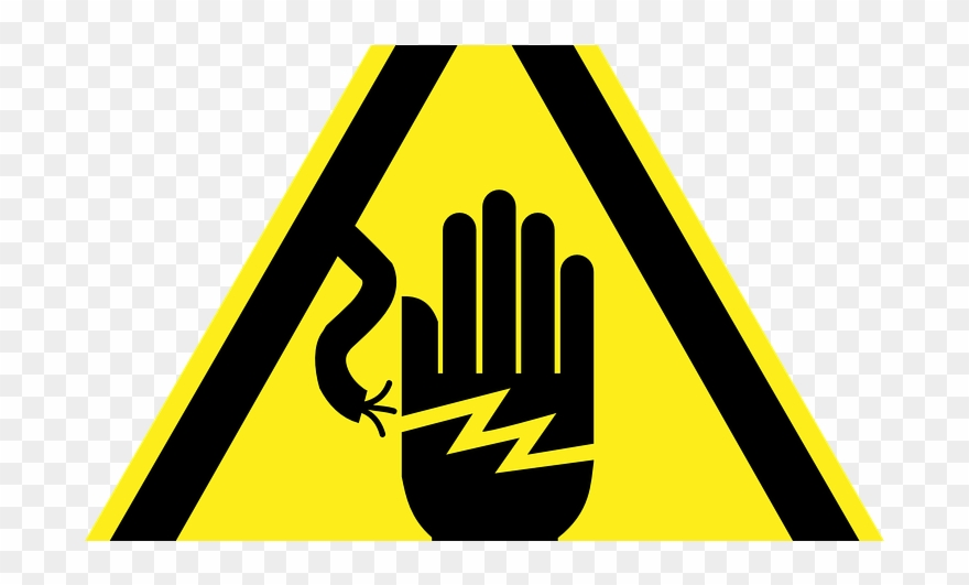 Electric clipart electricity danger. Ungrounded electrical systems and