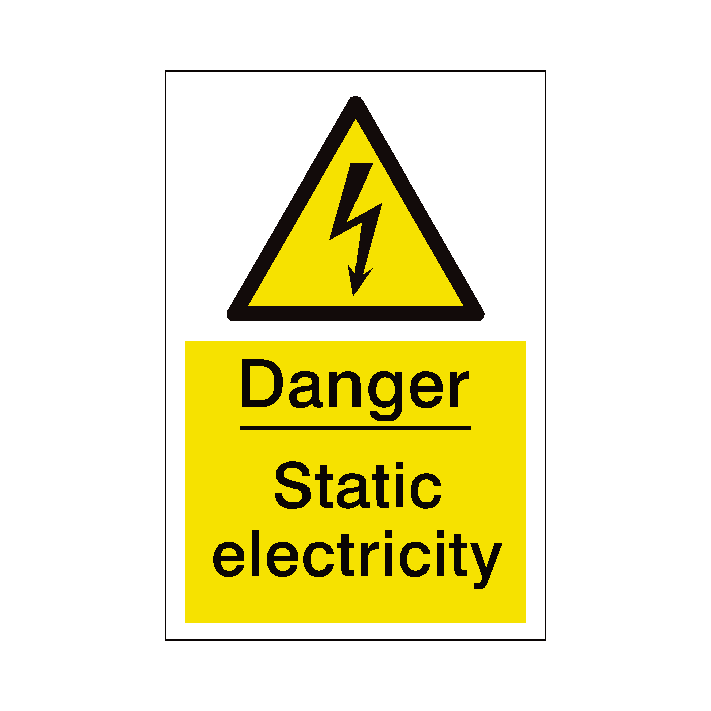 Electrical clipart electricity danger. Perfect sign of component