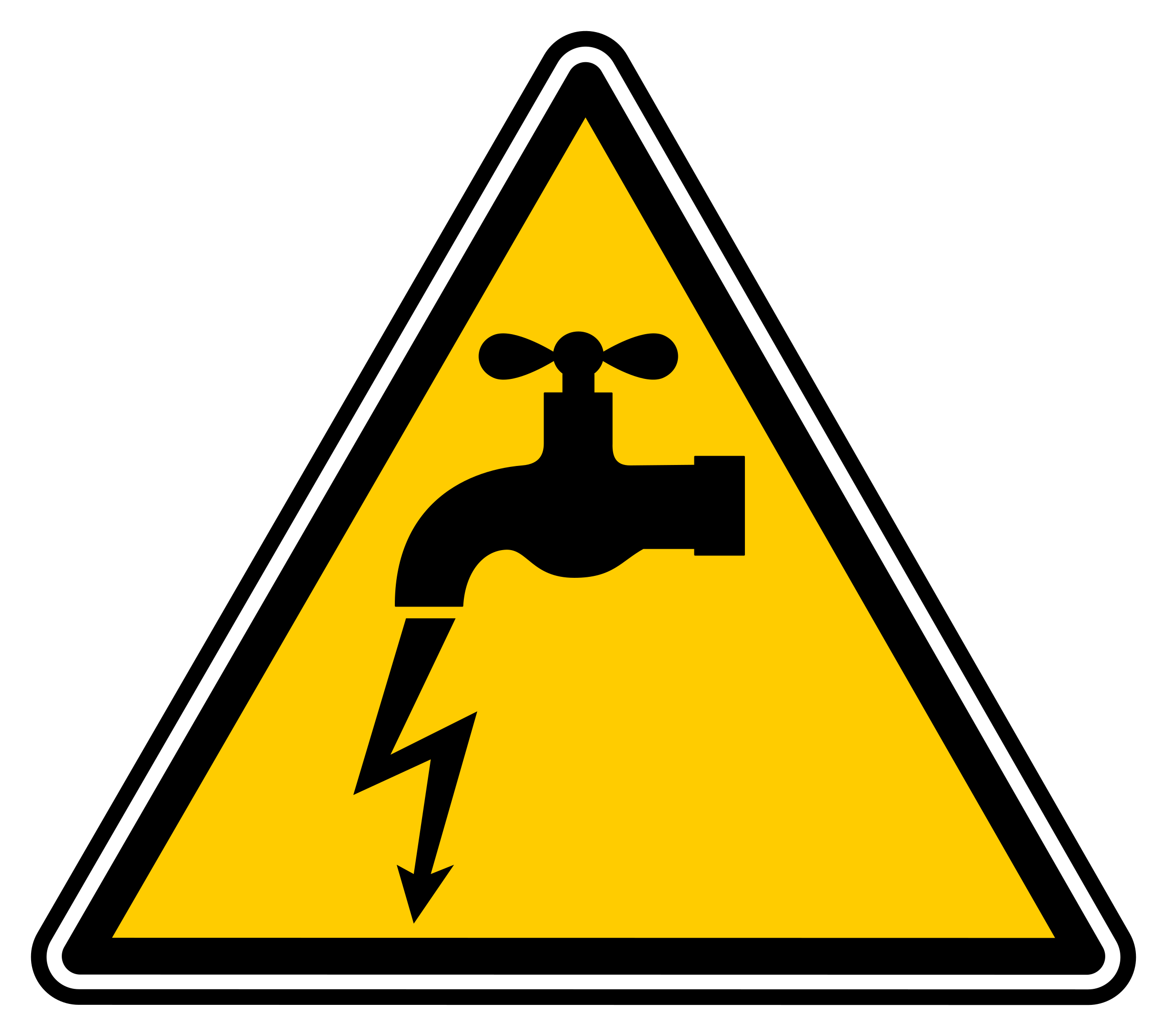 Electrical clipart electrical logo. Danger electric leakage big