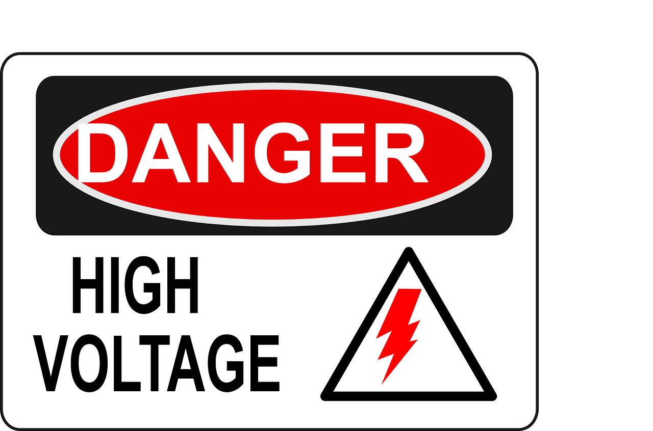 Electric clipart electricity danger. High voltage png image