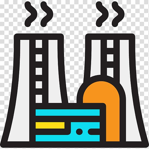 Power station computer icons. Electric clipart electricity generation