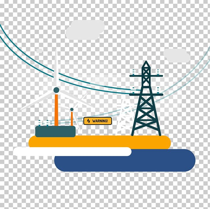 Wind farm power png. Electric clipart electricity generation