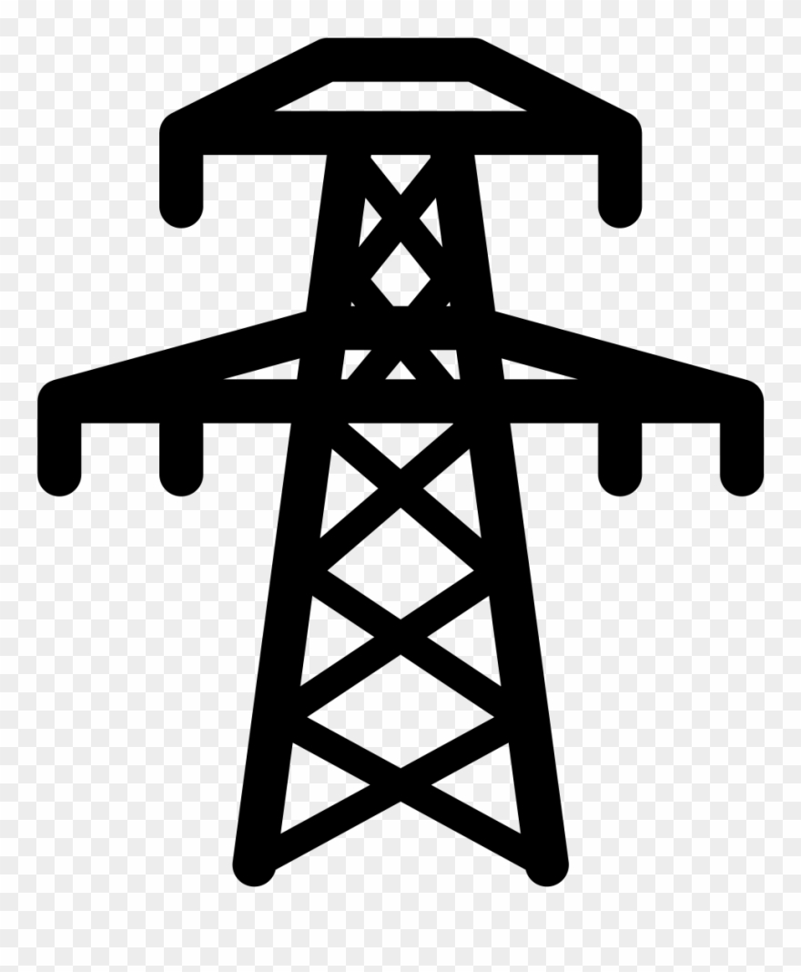 Electric clipart electricity generation. Grid power plant