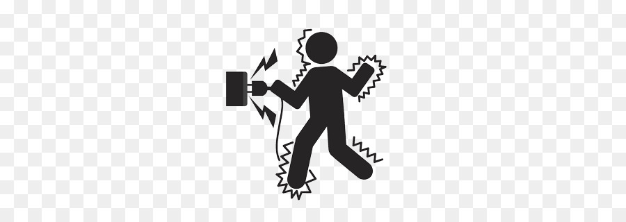 Electric clipart electrocuted. Electricity logo illustration graphics