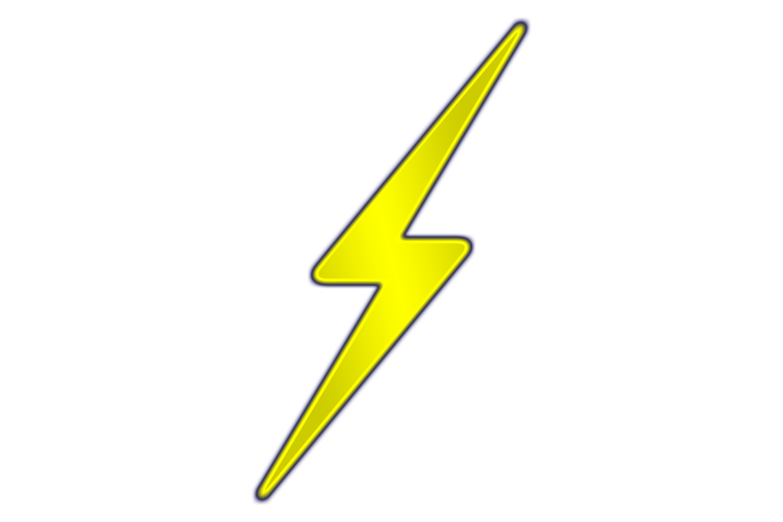 Lightning clipart lightning shock. Harry potter bolt panda