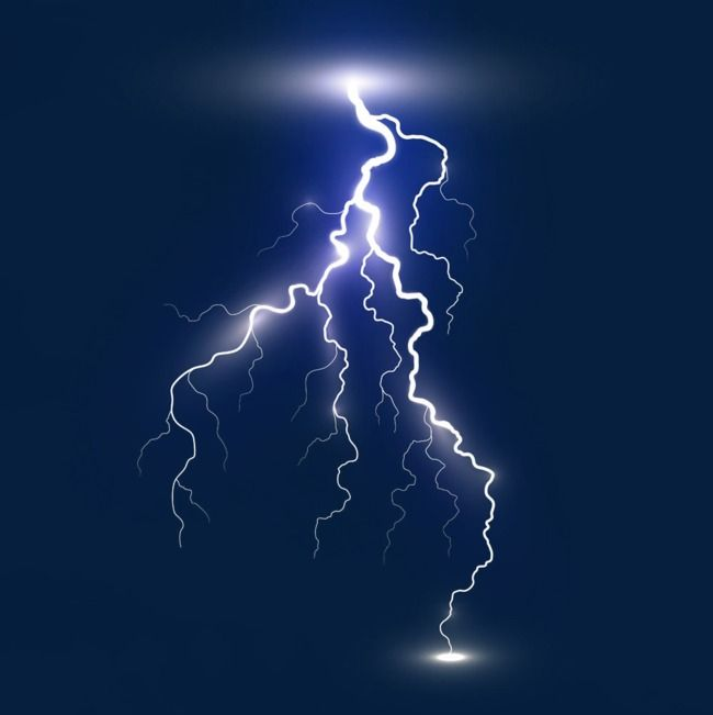 White lightning png . Electric clipart lighting storm