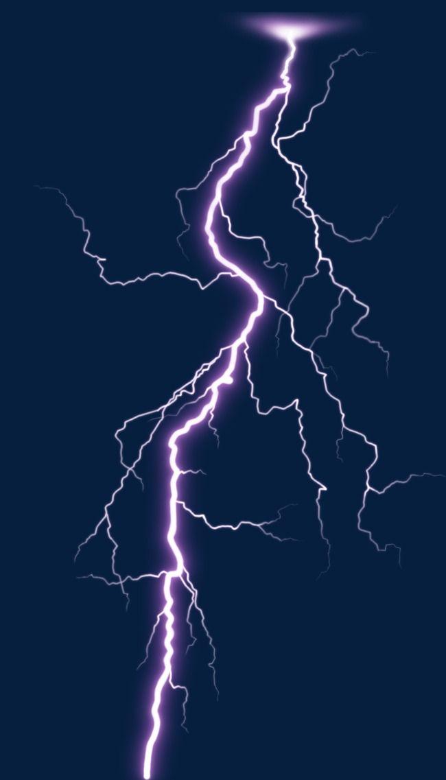 Vivid lightning thunder . Thunderstorm clipart electrical storm