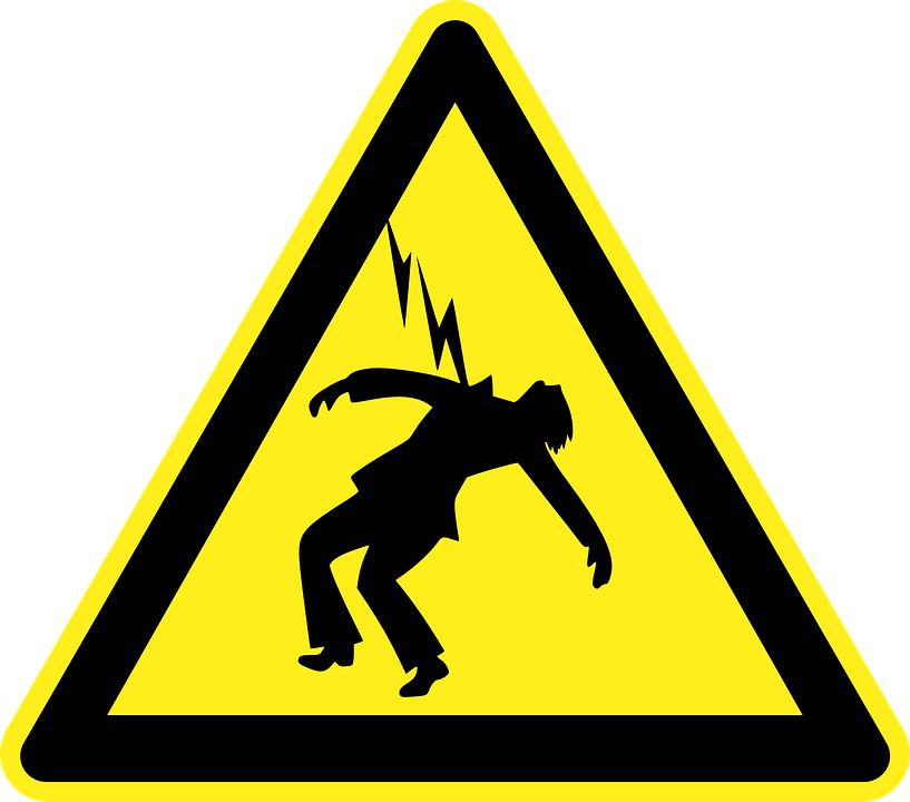 What to do when. Electric clipart lightnig