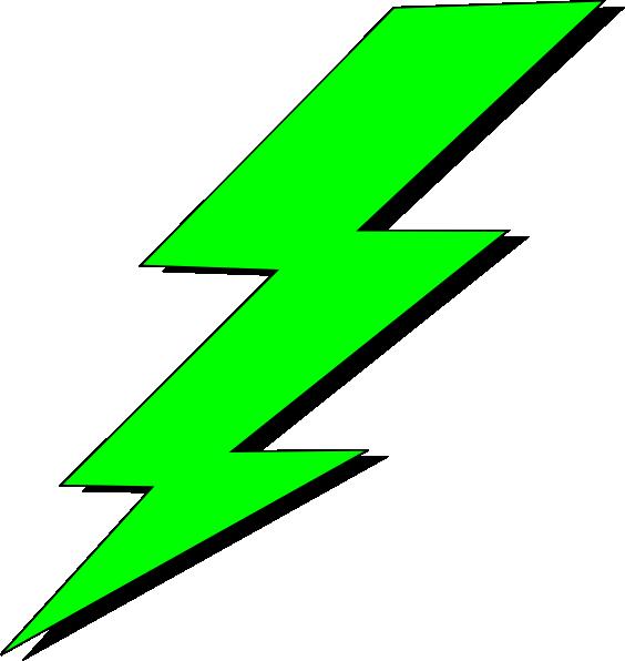 Lime green bolt hi. Electric clipart lightning flash