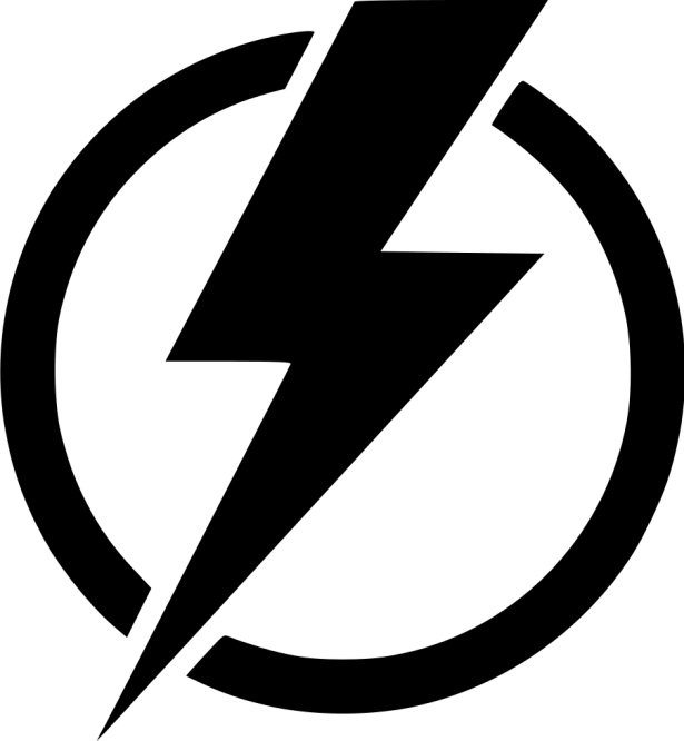 Electricity bolt cheap lamp. Electric clipart lightning flash