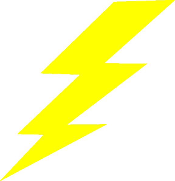 Bolt clip art at. Lightning clipart large