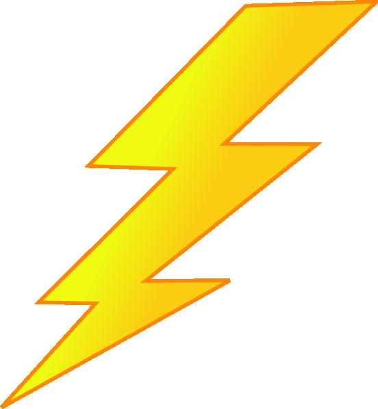 Lightning bolt clip art. Hurricane clipart flash flood