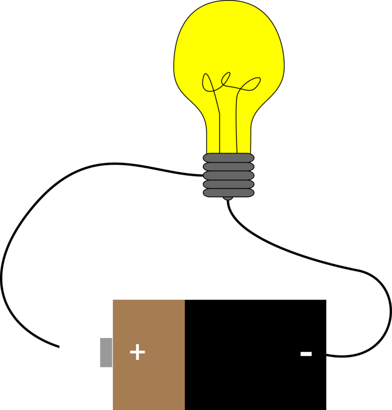 collection of battery. Lab clipart physical science