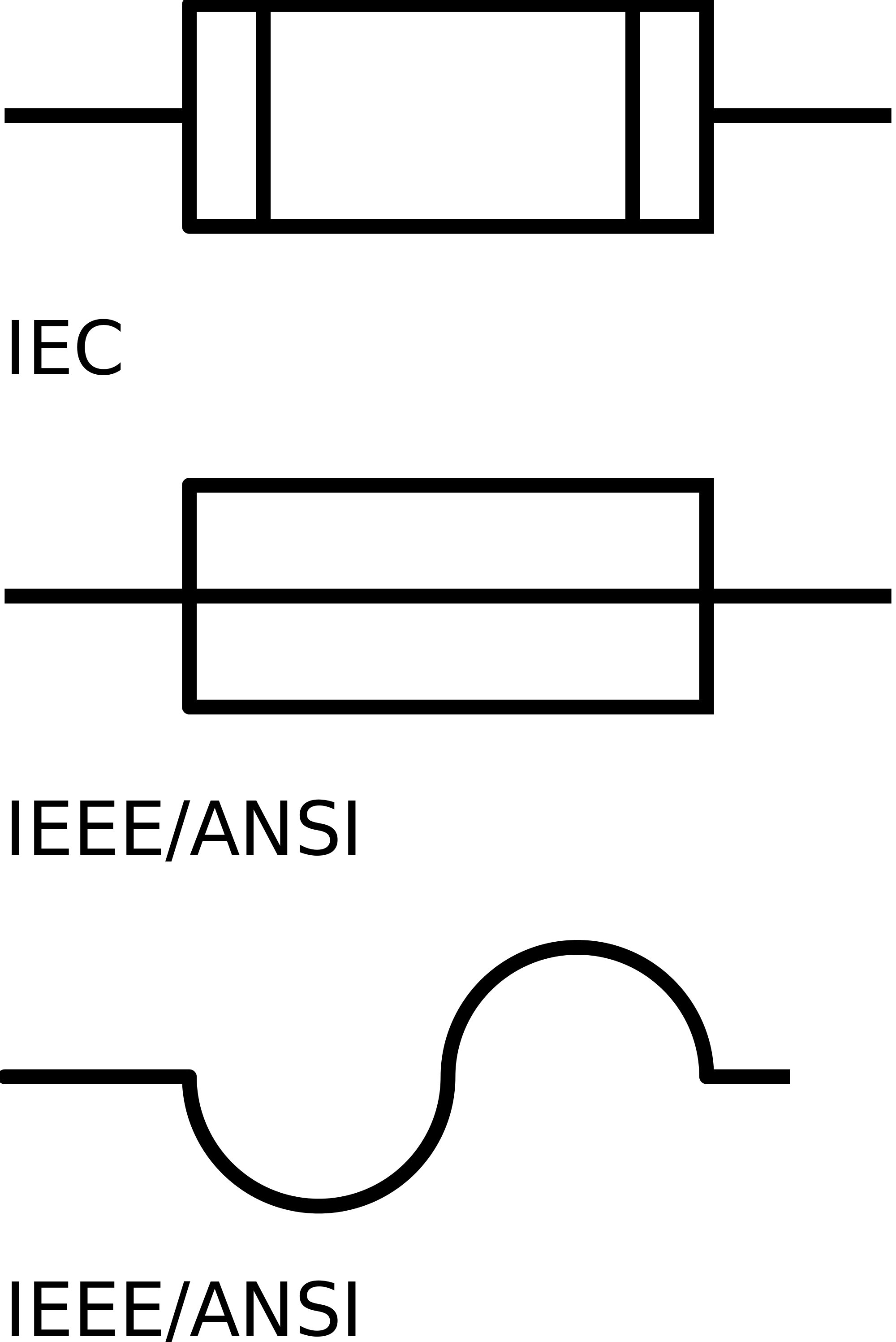 Wiring diagram symbols free. Electrical clipart fuse