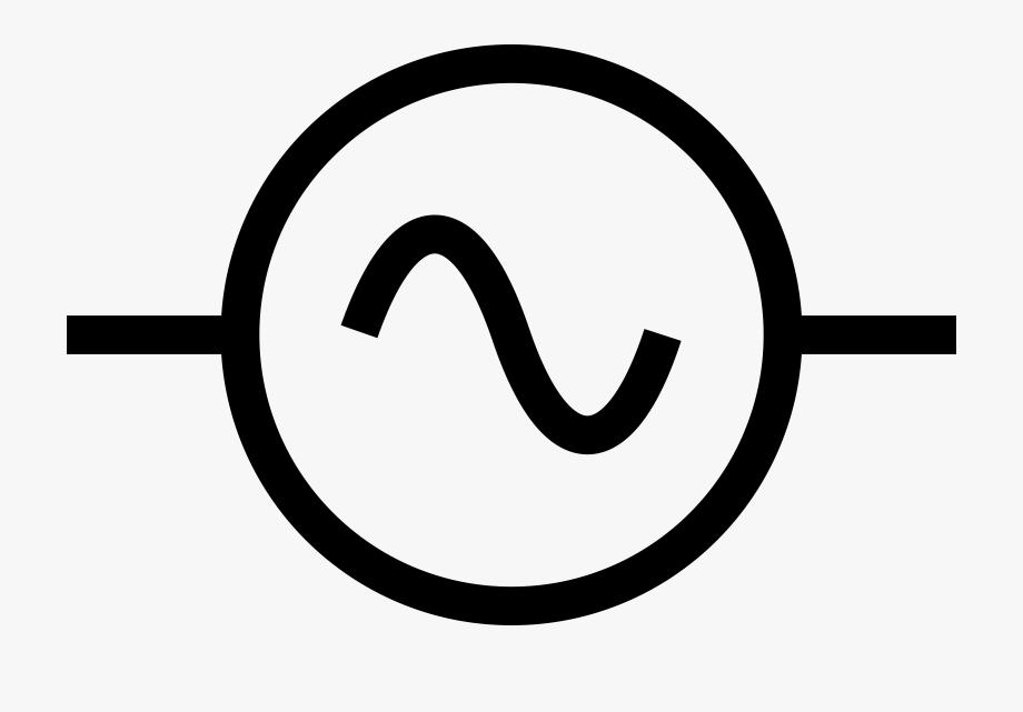 Electrical Power Source Symbol