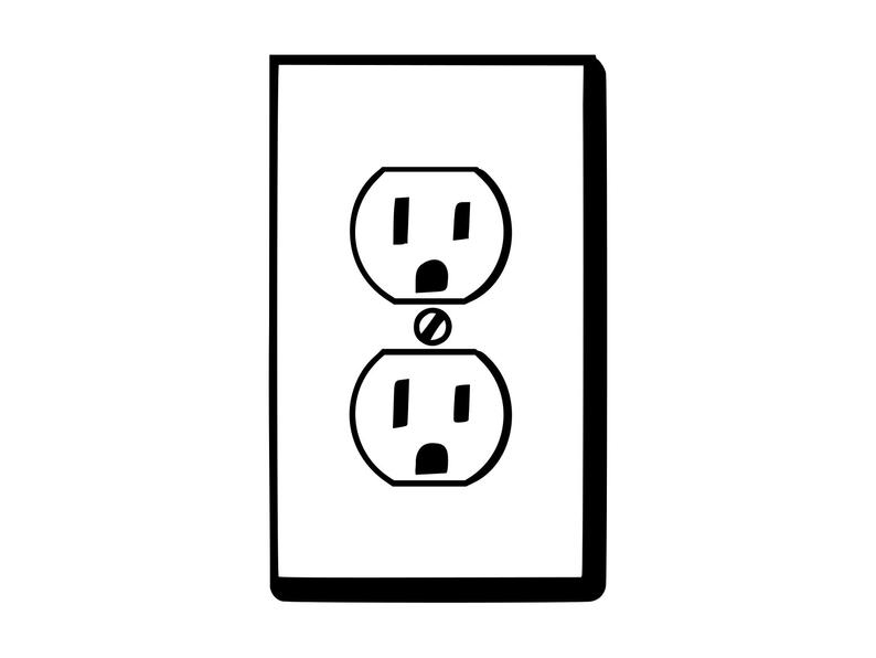 Electrical clipart receptacle. Download for free png