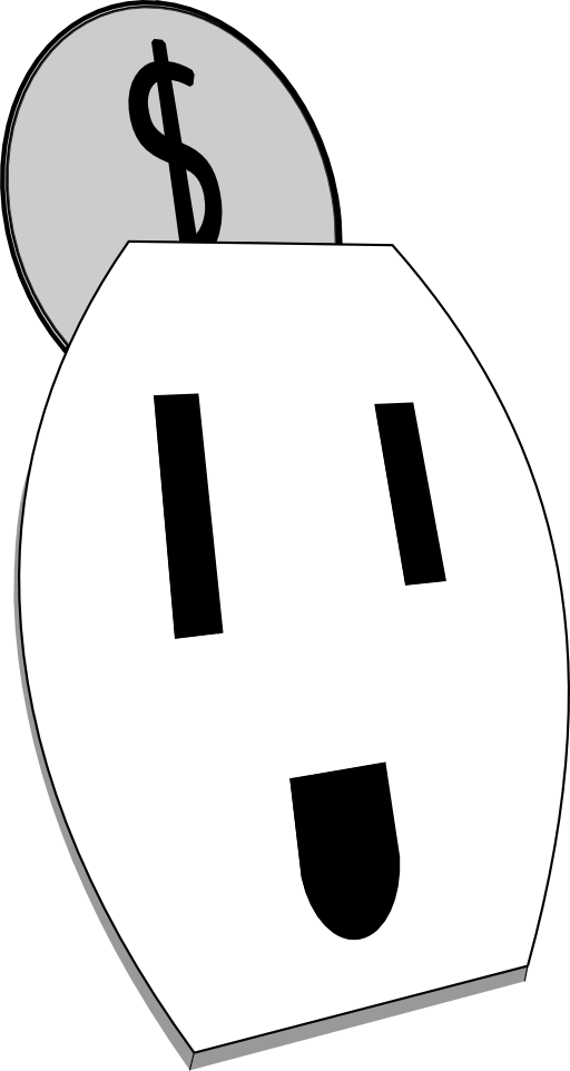 Happy electrial outlet i. Electrical clipart receptacle