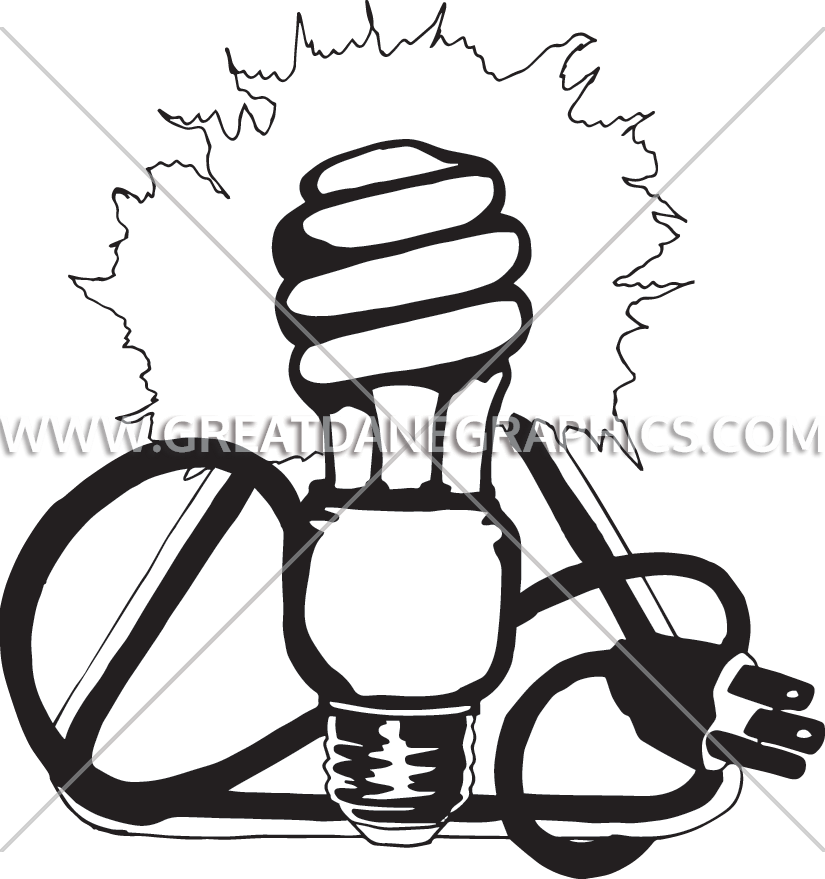 Weight clipart power. Surge light bulb production