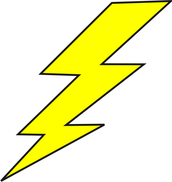 electric clipart thunderbolt