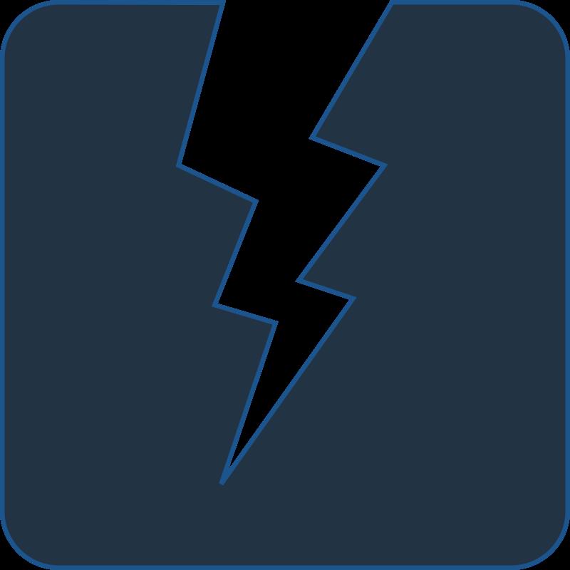 Electrical clipart electrical logo. Electricity bolt elegant balck