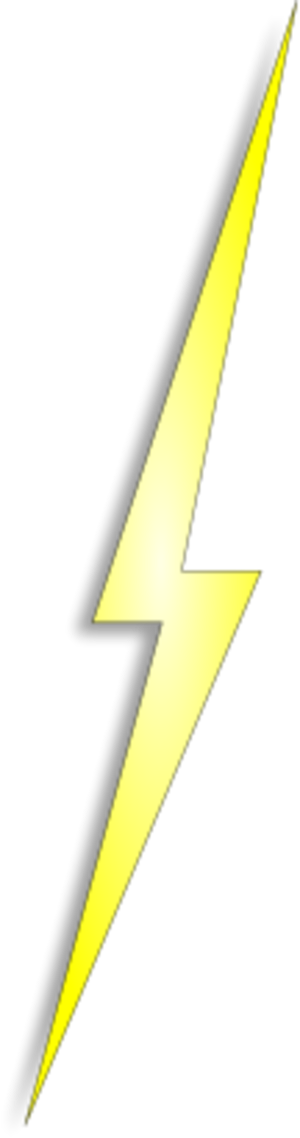 Yellow lightning png images. Electric clipart thunderbolt