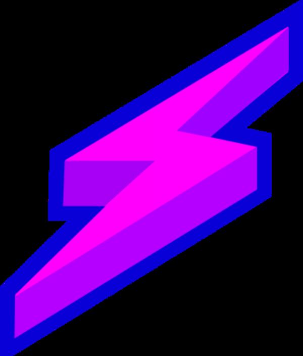 Thunder purple clip art. Lightning clipart thunderstorm