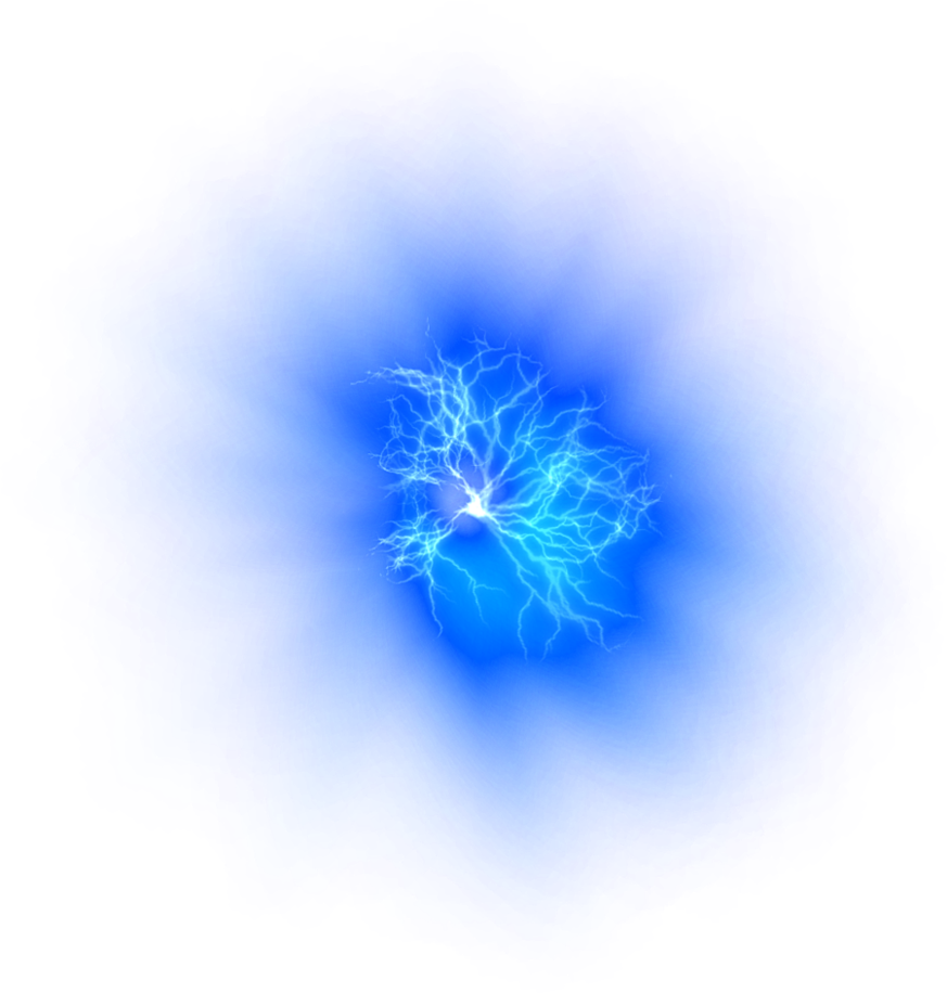 Electric clipart water electricity. Overlay interesting blue glow