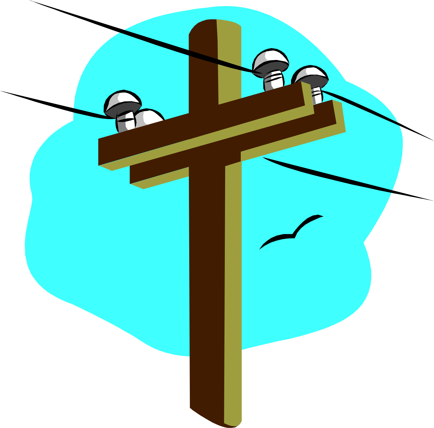 Electric line cliparts free. Electrical clipart
