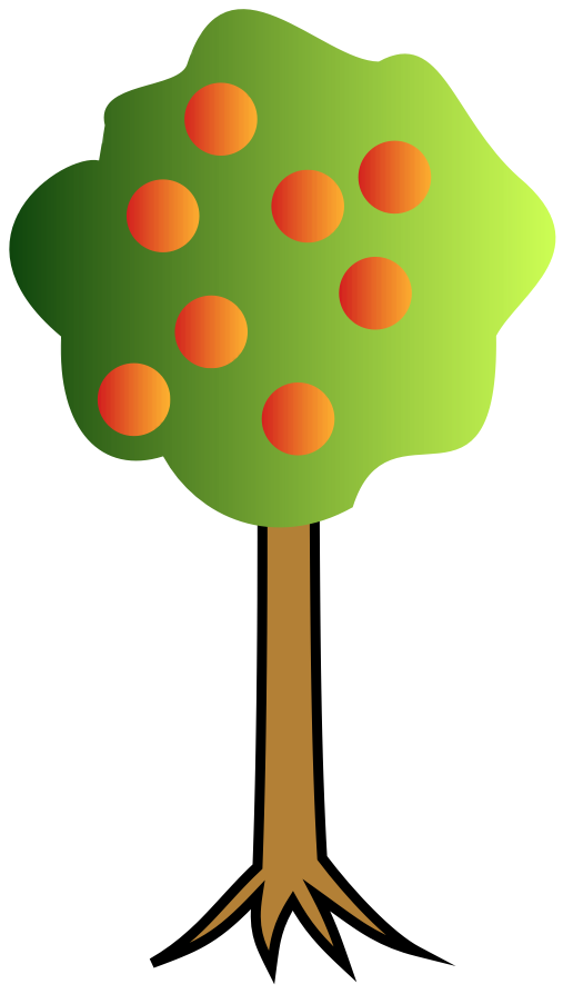 Free cartoon k computer. Poetry clipart animated tree