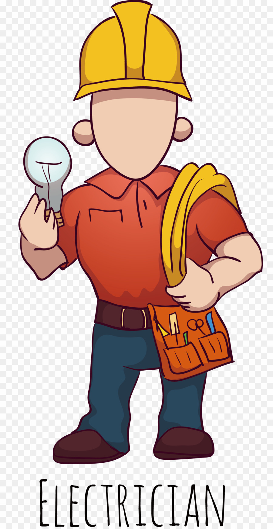 Engineer cartoon png engineering. Electrician clipart electrical installation