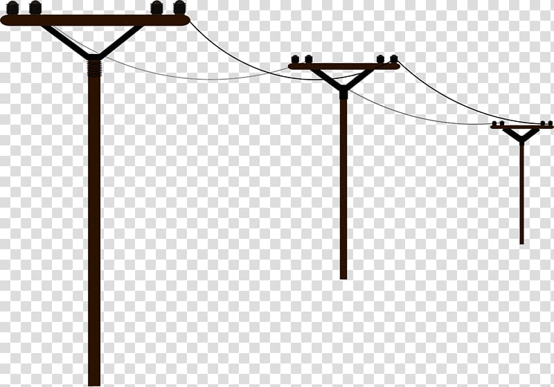Electrical clipart electric post. Overhead power line electricity