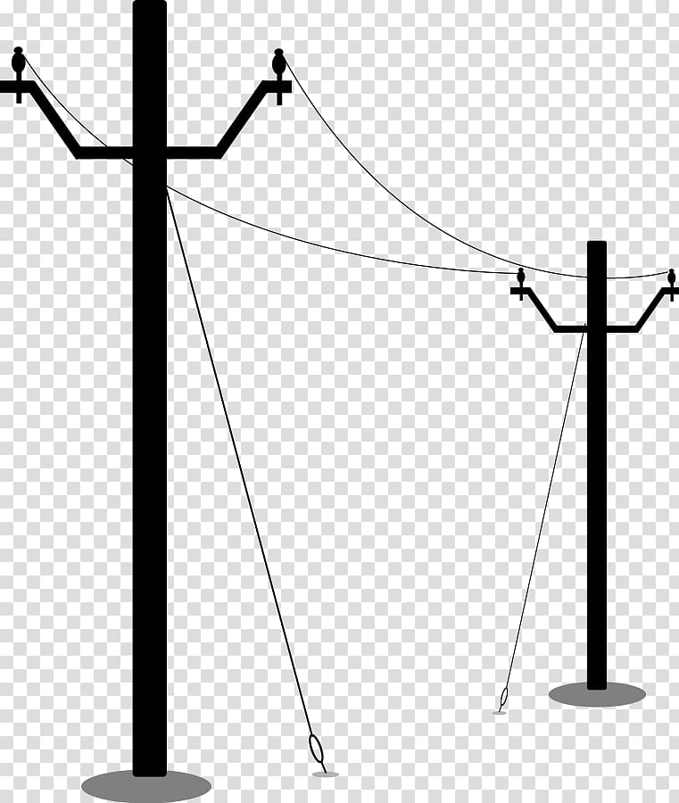 Electrical clipart electric post. Utility pole electricity overhead