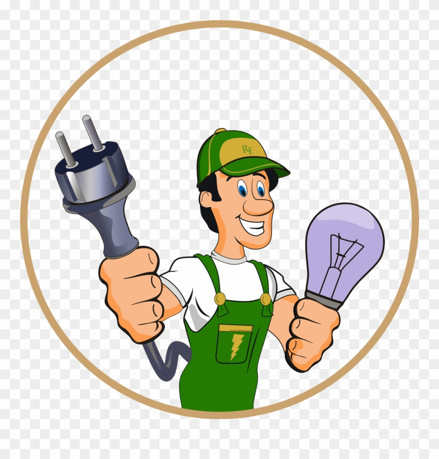 Electrical clipart electrical repair. Work electrician