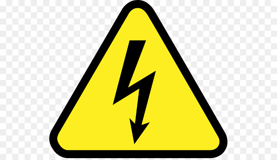 Electricity clipart electricity danger. Symbol triangle
