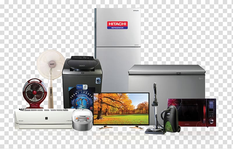 Assorted home appliances electricity. Electronics clipart electronic appliance